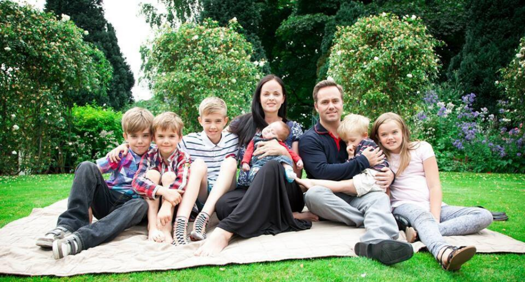 ben woodward and family